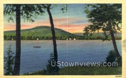 White Lake, New York, NY Postcard