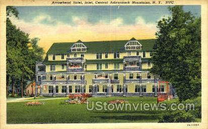 Arrowhead Hotel - Inlet, New York NY Postcard