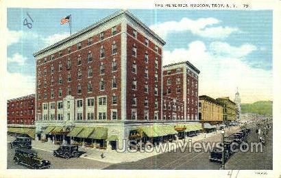 Hendrick Hudson - Troy, New York NY Postcard