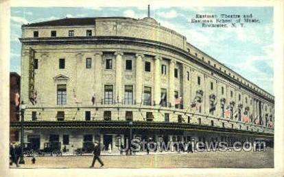 Eastman Theatre - Rochester, New York NY Postcard