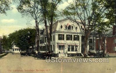 The Carlsbad - Saratoga Springs, New York NY Postcard
