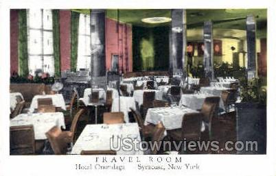 Hotel Onondaga - Syracuse, New York NY Postcard