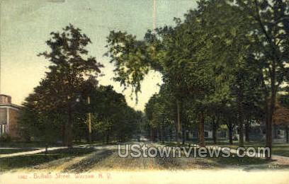 Buffalo Street - Warsaw, New York NY Postcard