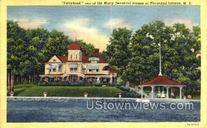 Fairyland - Thousand Islands, New York NY Postcard