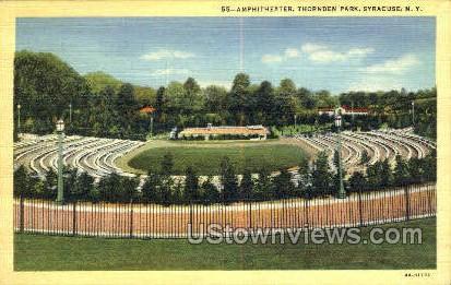 Thornden Park  - Syracuse, New York NY Postcard