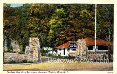 Watkins Glen State Park - New York NY Postcard