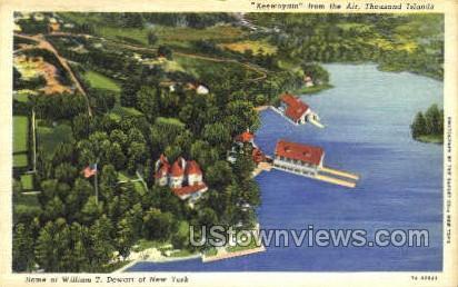 Keewaydin - Thousand Islands, New York NY Postcard