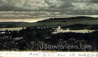 Star Lake - Adirondack Mts, New York NY Postcard
