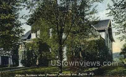 Milburn Residence - Buffalo, New York NY Postcard