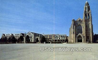 St. Anges Cathedral - Long Island, New York NY Postcard