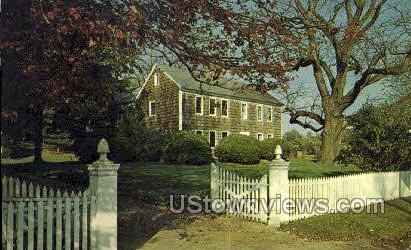 Sherwood-Jayne House - Long Island, New York NY Postcard