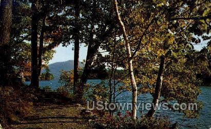Adirondack Mts - Lake George, New York NY Postcard