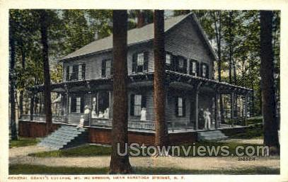 Mt McGregor - Saratoga Springs, New York NY Postcard
