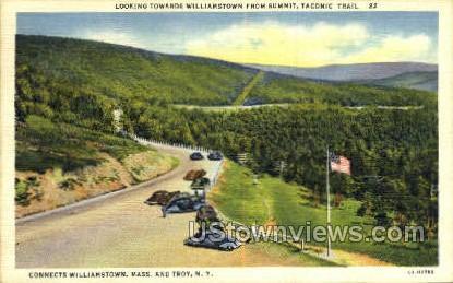 Taconic Trail - Troy, New York NY Postcard