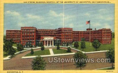 The Strong Memorial Hospital - Rochester, New York NY Postcard