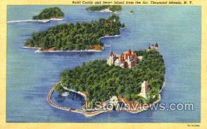 Boldt Castle, Heart Island - Thousand Islands, New York NY Postcard