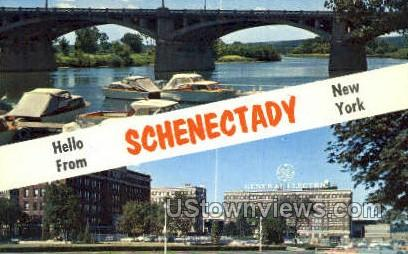 Schenectady, New York, NY Postcard