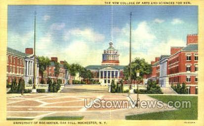 Oak Hill, University of Rochester - New York NY Postcard