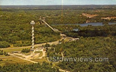 Skydeck Tower, Hill Island - Thousand Islands, New York NY Postcard