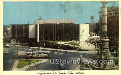 Buffalo & Erie County Public Library - New York NY Postcard