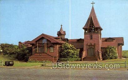 St. Andrew's Dune Church - Long Island, New York NY Postcard