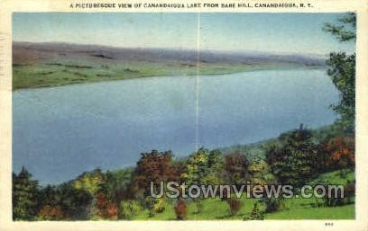 Canandaigua Lake - New York NY Postcard