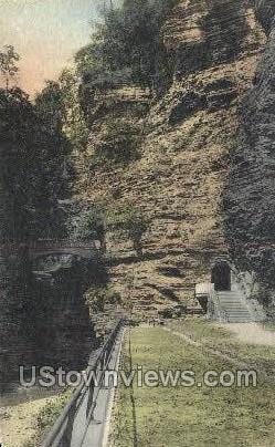 Amphitheatre - Watkins Glen, New York NY Postcard