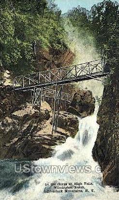Wilmington Notch - Adirondack Mts, New York NY Postcard