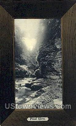 Pool Glen - Watkins Glen, New York NY Postcard