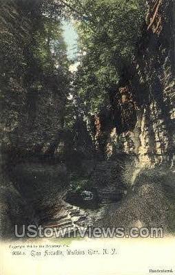 Glen Arcadia - Watkins Glen, New York NY Postcard