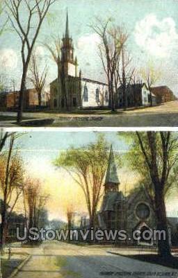 Trinity Episcopal Church - Utica, New York NY Postcard