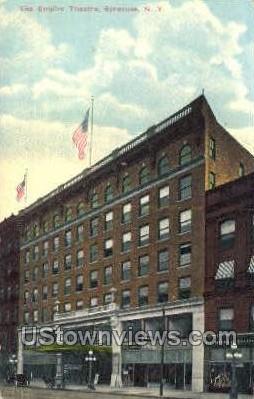 Empire Theatre - Syracuse, New York NY Postcard