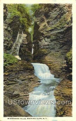 Nubbegaga Fakks - Watkins Glen, New York NY Postcard