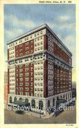 Hotel Utica - New York NY Postcard