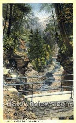 Poet's Dream - Watkins Glen, New York NY Postcard