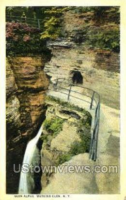 Glen Alpha - Watkins Glen, New York NY Postcard