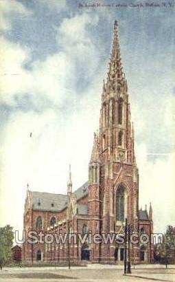 St. Louis Catholic Church - Buffalo, New York NY Postcard