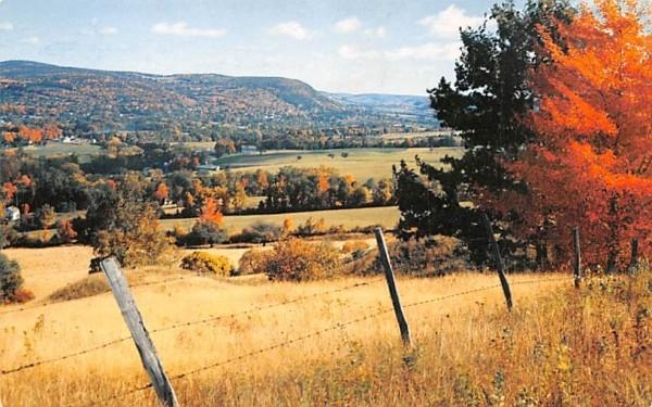 From Franklin Mountain Roxbury, New York Postcard