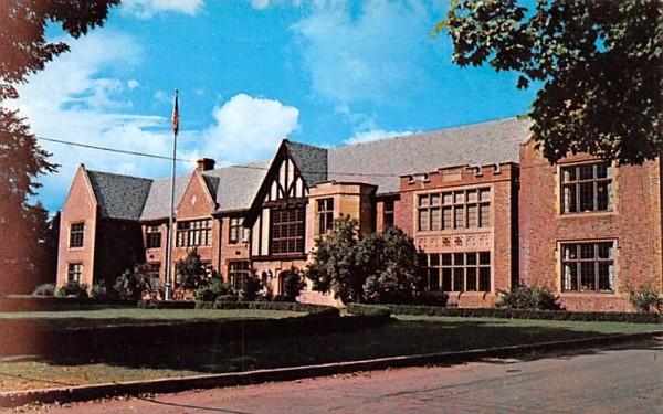 Roxbury Central School New York Postcard