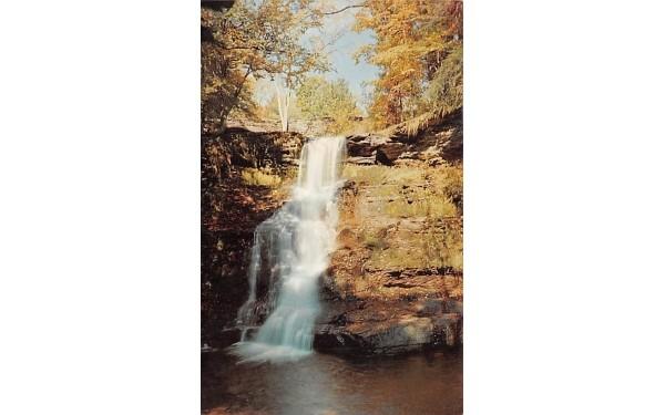 Beautiful Falls Roxbury, New York Postcard