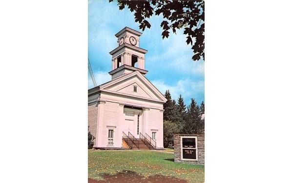 United Methodist Church Roxbury, New York Postcard