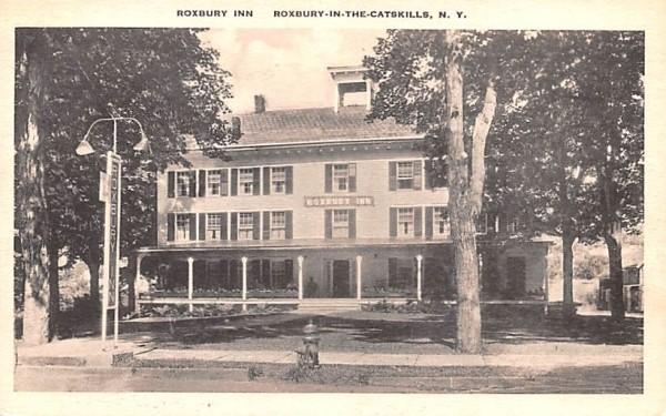 Roxbury Inn New York Postcard