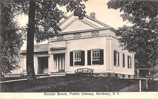 Bonnie Brook Roxbury, New York Postcard
