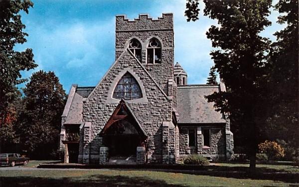 Jay Gould Reformed Church Roxbury, New York Postcard