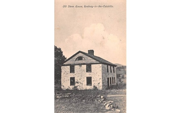Odl Stone House Roxbury, New York Postcard