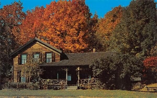 Woodchuck Lodge Roxbury, New York Postcard