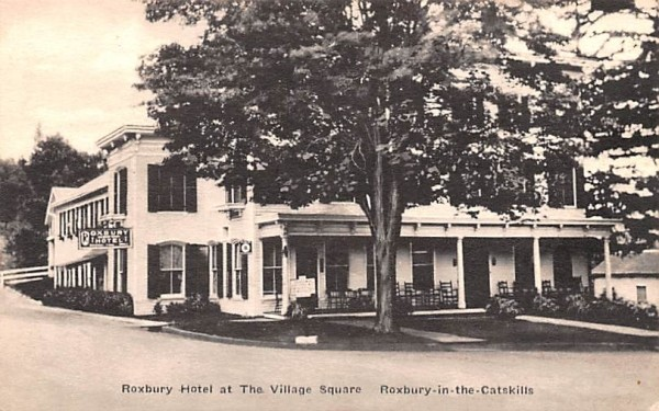 Roxbury Hotel at Village Square New York Postcard