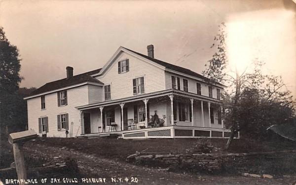 Birthplace of Jay Gould Roxbury, New York Postcard