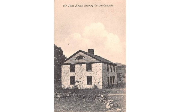 Old Stone House Roxbury, New York Postcard