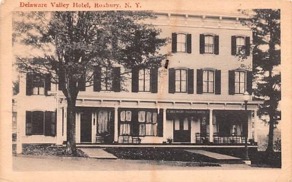 Delaware Valley Hotel Roxbury, New York Postcard